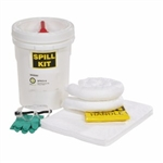 "Oil-Only 5-Gallon Spill Kit 12"" x 16.75"", 1/pkg"
