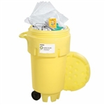 "Oil-Only 50-Gallon Wheeled Spill Kit 28.75"" x 45.5"", 1/pkg"