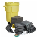 "Universal 95-Gallon Wheeled Spill Kit   36"" x 47"", 1/pkg"