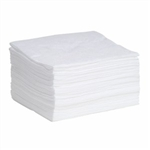 "Oil-Only MeltBlown Pads 15"" x 18"",  100/pkg"