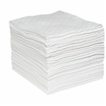 "Oil-Only SonicBonded Pads (Heavy Wt) 15"" x 19"", 100/pkg"