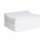 "Oil-Only SonicBonded Pads (Single Wt) 15"" x 19"", 100/pkg"