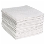 "Oil-Only SonicBonded Pads (Single Wt) 15"" x 19"", 200/pkg"