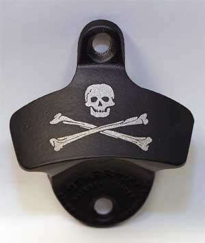 Bones Pirate Bottle Opener