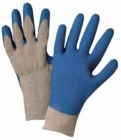 Premium Grey Knit With Latex Palm Gloves