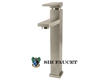 Single Handle Lavatory Vessel Faucet