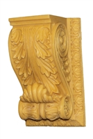 Resin Acanthus Bracket with Molding Frame