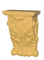 Resin Small Acanthus Bracket with Shelf