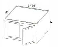 Parkview Cabinets PRDRW3612