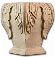 Acanthus Bunn Foot - From Hardware and Molding