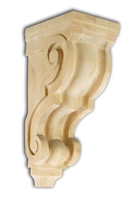 Traditional Scroll Corbel - From Hardware and Molding