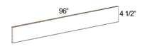 "Parkview Cabinets 4-1/2""(h) x 96""(w) x 1/4""(d) Toe Kick Strip"