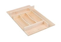"Century Components 14"" Trimmable Silverware Tray Insert"