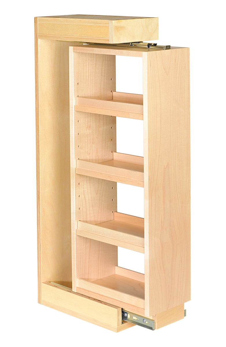 cabinet spice rack pull out