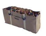 12-Slot Duck Decoy Bag, Brown