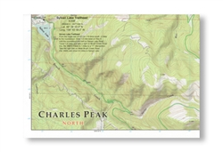 10th Mountain Huts Continental Divide map