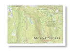 10th Mountain Huts, Mount Yeckel topo map