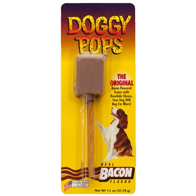 Bacon Doggy Pops - Single Pack