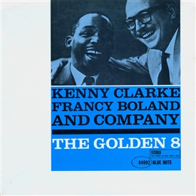 Kenny Clarke - The Golden 8 Jacket Cover