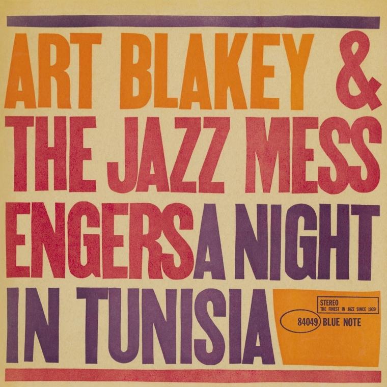Art Blakey A Night In Tunisia Blue Note Vinyl Reissue