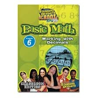 Standard Deviants School Basic Math Module 6: Working With Decimals DVD