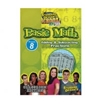 Standard Deviants School Basic Math Module 8: Adding And Subtracting Fractions DVD