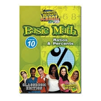Standard Deviants School Basic Math Module 10: Ratios And Percents DVD