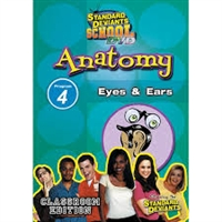 Standard Deviants School Anatomy Module 4: Eyes And Ears DVD