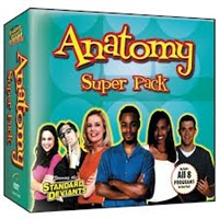 Standard Deviants School Anatomy Super Pack DVD
