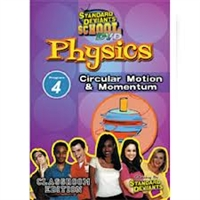 Standard Deviants School Physics Module 4: Circular Motion And Momentum DVD