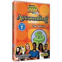 Standard Deviants School Accounting Module 1: The Basics DVD