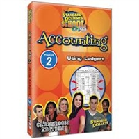 Standard Deviants School Accounting Module 2: Using Ledgers DVD