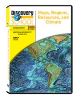 American Geography Close-Ups: Maps, Regions, Resources, And Climate