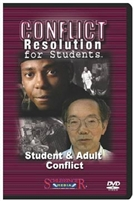 Conflict Resolution For Students: Student & Adult Conflict