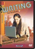 Writing For Students: Writing For Formal/ Informal