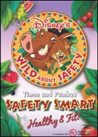 Wild About Safety with Timon & Pumbaa: Safety Smart Healthy & Fit