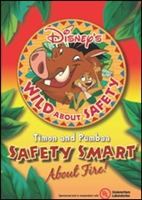 Wild About Safety with Timon & Pumbaa: Safety Smart About Fire