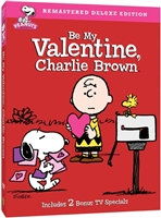 Peanut DVD Collection Be My Valentine, Charlie Brown