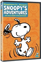 Happiness Is... Peanuts: Snoopy's Adventures DVD