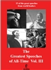 The Greatest Speeches of All-Time Vol. III DVD