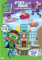 Super WHY! Attack of the Eraser: A Comic Book Adventure (Full Screen)