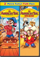 American Tail Family Double Feature DVD