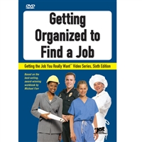 Getting Organized to Find a Job DVD