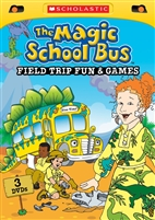 Magic School Bus: Field Trip Fun & Games DVD