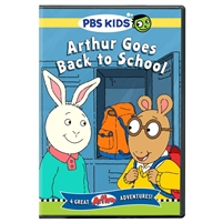 Arthur Goes Back to School DVD