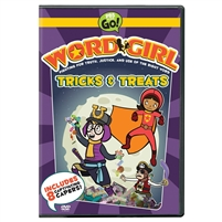 WordGirl: Tricks & Treats DVD