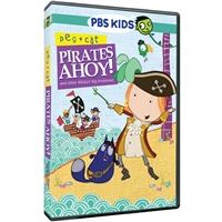 Peg + Cat: Pirates Ahoy! and Other Really Big Problems DVD