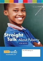 Straight Talk About Puberty for Boys DVD