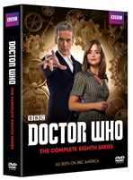 Doctor Who Complete 8th Season DVD Pack
