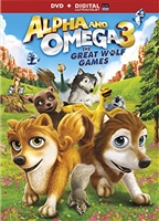 Alpha & Omega 3: The Great Wolf Games DVD